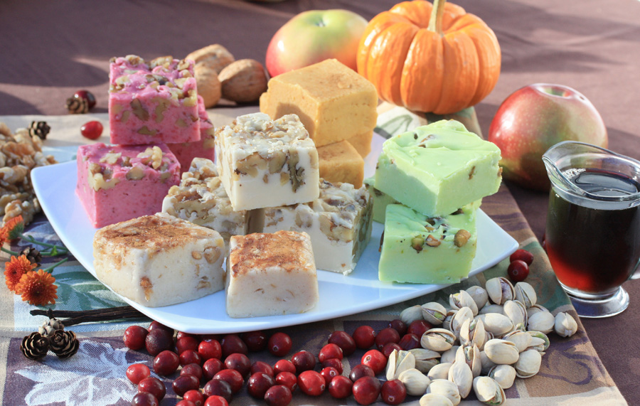 Fall Seasonal Fudge