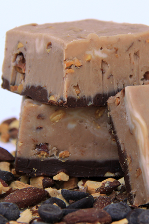 Hazelnut Coffee Fudge