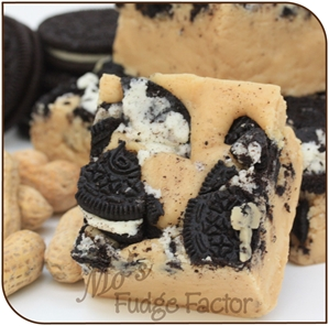 Peanut Butter and Cookies Fudge fudge, peanut butter, oreo, creamy, fresh