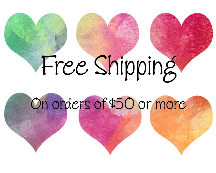 Free shipping on $50 or more